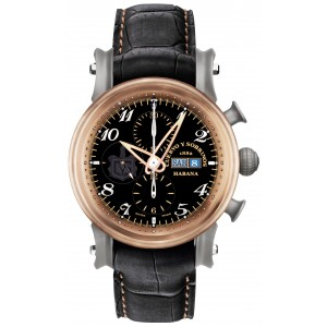 BRONZE BLACK 3051.5N, PIRATA CHRONO