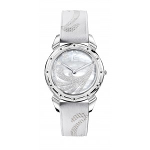WHITE MOTHER OF PEARL DIAMOND DUST SILVER 3112.1MA-DW-I, LADY