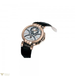 HARRY WINSTON PREMIER EXCENTER CHRONOGRAPH 18K ROSE GOLD