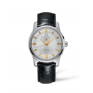 LONGINES HERITAGE COLLECTION CONQUEST WHITE