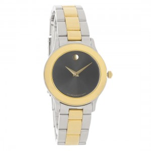 MOVADO JUNIOR SPORTS LADIES TWO TONE