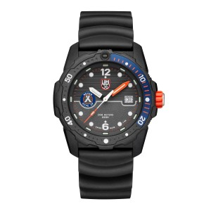 BEAR GRYLLS SURVIVAL 3720 SEA SERIES GREY DIAL BLUE BEZEL