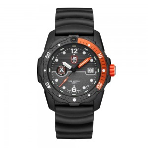 BEAR GRYLLS SURVIVAL 3720 SEA SERIES GREY DIAL ORANGE BEZEL