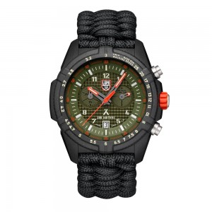 BEAR GRYLLS SURVIVAL 3780 LAND SERIES GREEN DIAL