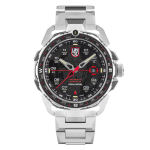 ICE-SAR ARCTIC 1200 SERIES BLACK DIAL WITH STAINLESS STEEL BRACELET