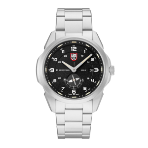 ATACAMA ADVENTURER 1760 SERIES BLACK DIAL STAINLESS STEEL STRAP