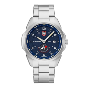 ATACAMA ADVENTURER 1760 SERIES BLUE DIAL STEEL STRAP