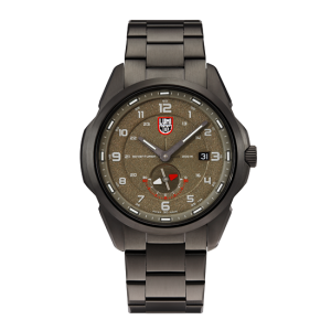 ATACAMA ADVENTURER 1760 SERIES KHAKI GREEN DIAL STAINLESS STEEL STRAP