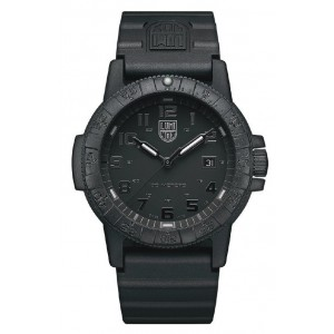 LEATHERBACK SEA TURTLE 0320 SERIES BLACK DIAL WITH BLACK INDICES
