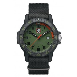 LEATHERBACK SEA TURTLE 0320 SERIES GREEN DIAL WITH BLACK INDICES